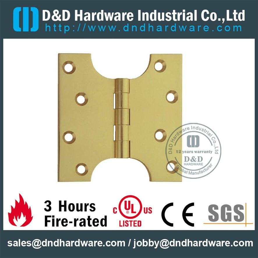 solid brass heavy duty projection hinge