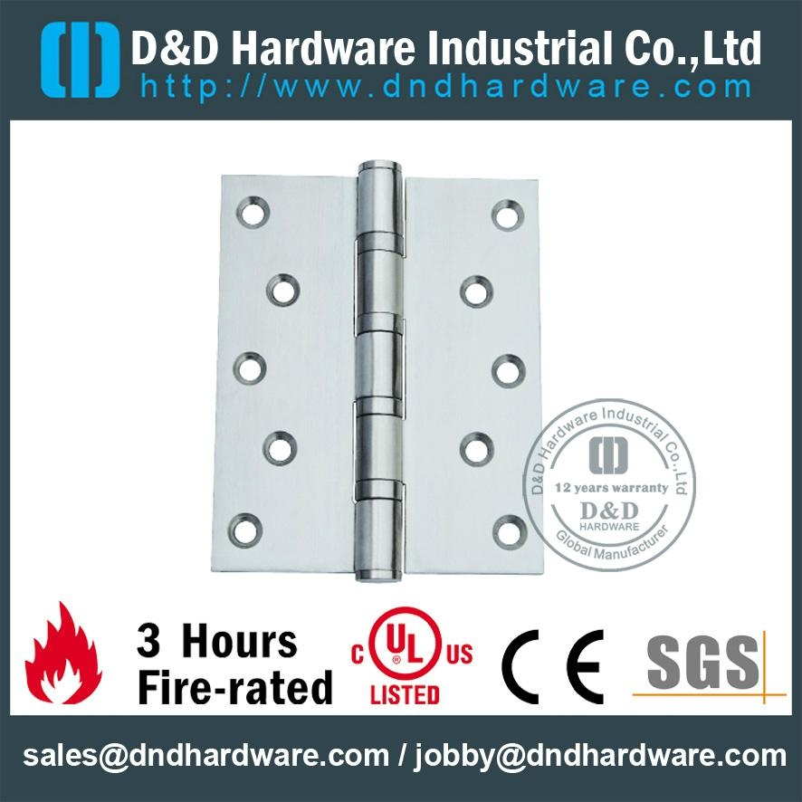 stainless steel flat tip plain joint hinge