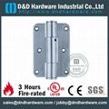 Steel spring hinge BHMA ANSI CE UL file number R38013