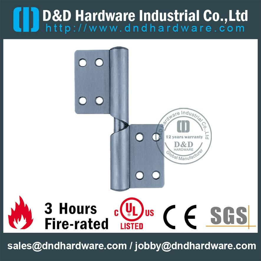 DDSS032 fire-rated flag hinge right hand