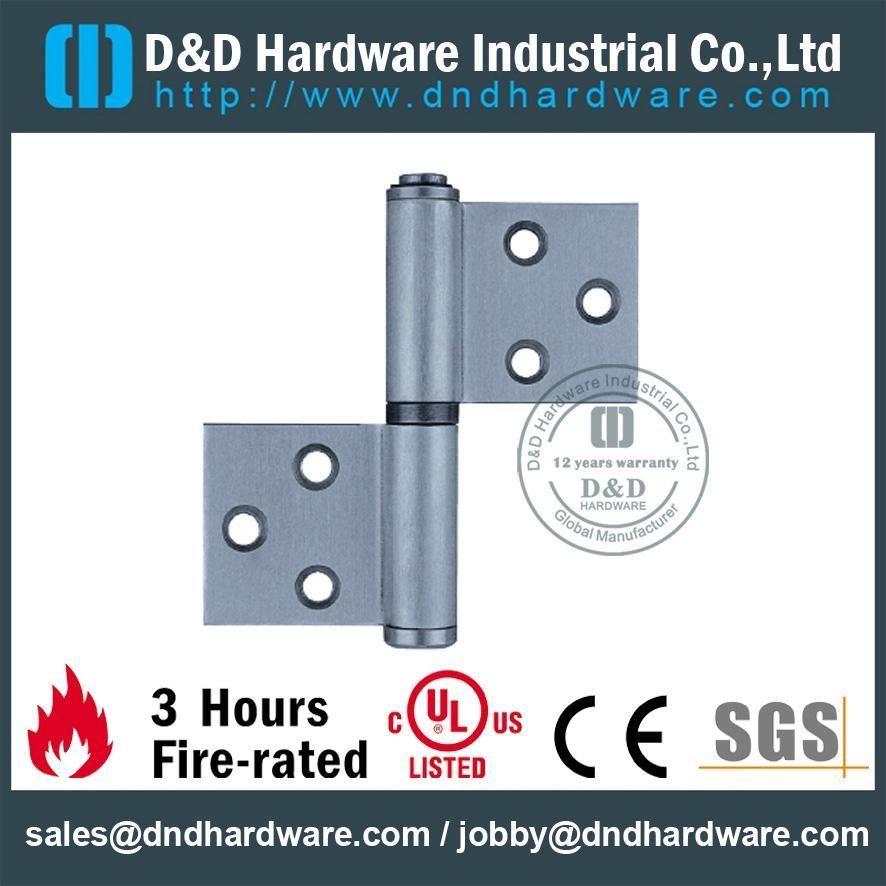 DDSS029 S/Steel flag hinge left hand