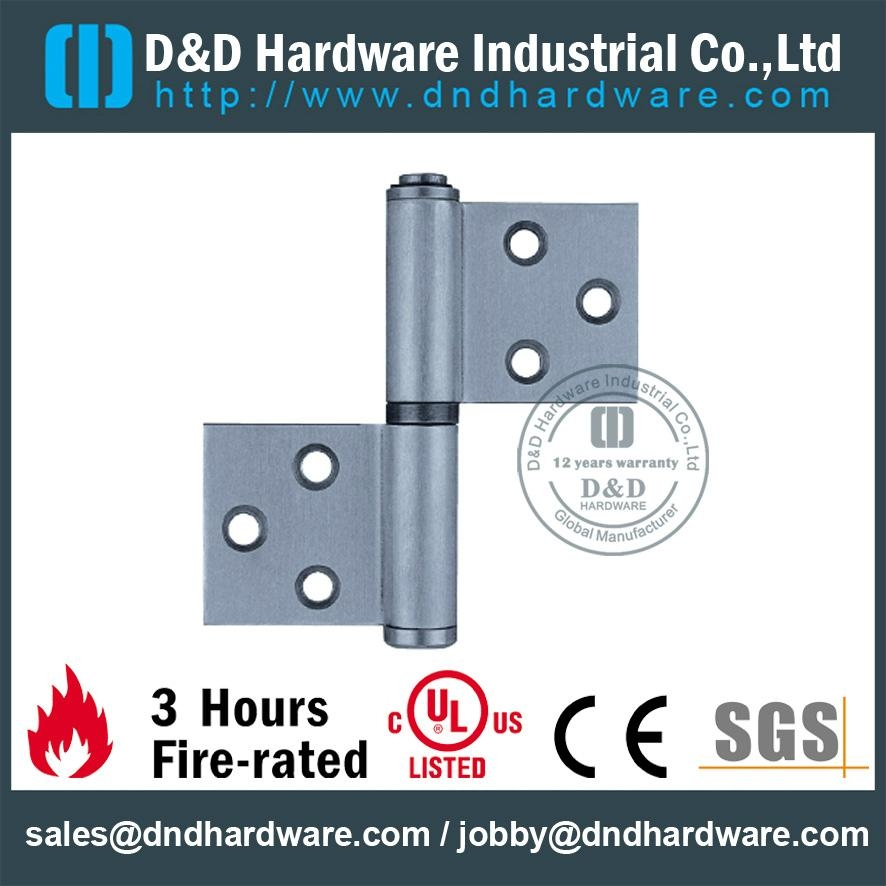 DDSS029 S/Steel flag hinge left hand