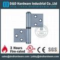 DDSS029 stainless steel flag hinge left