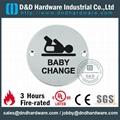 BABY CHANGE圓形指示牌