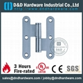 Stainless steel door H hinge NFPA80 UL