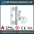 Stainless steel door hinge NFPA80 UL