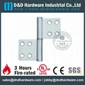 single washer flag hinge