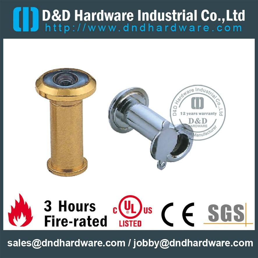 brass door viewer,zinc alloy body,glass lens