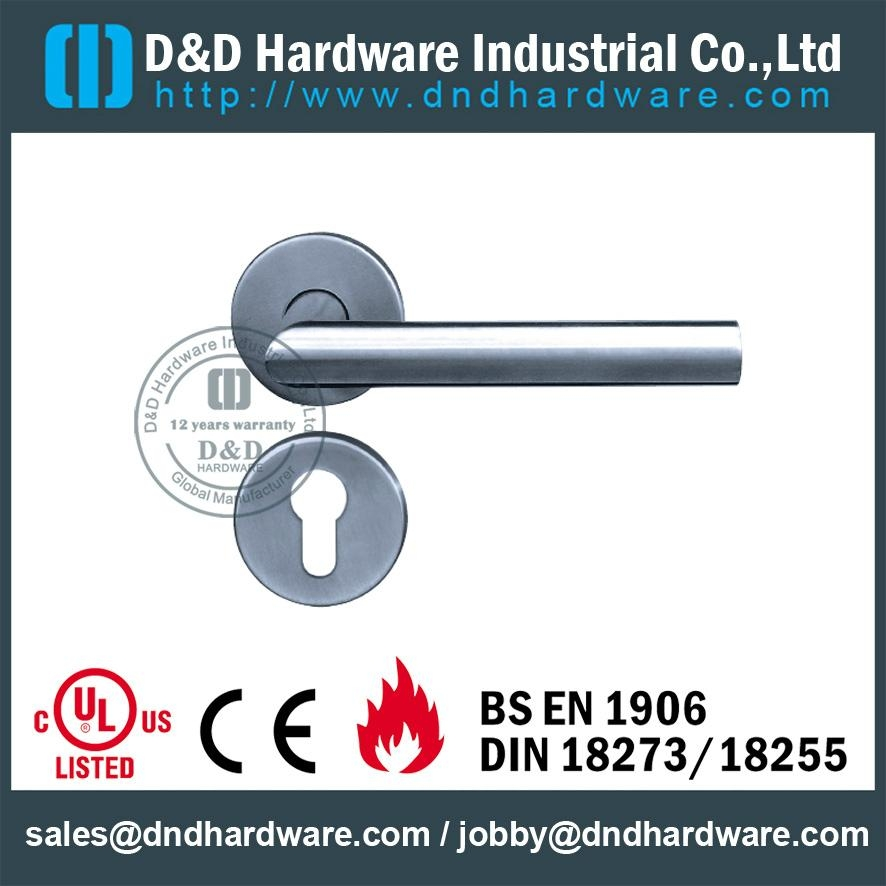 DDTH003 fire rated lever tube handle