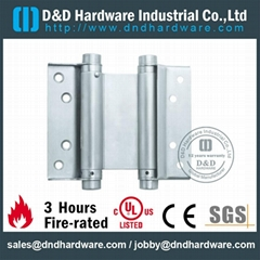 Double spring hinge UL fire rate number