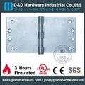 Zinc alloy concealed hinge SS hinge UL number R38013