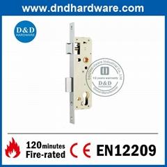 Zinc Alloy Narrow Stile Lock for Steel Door