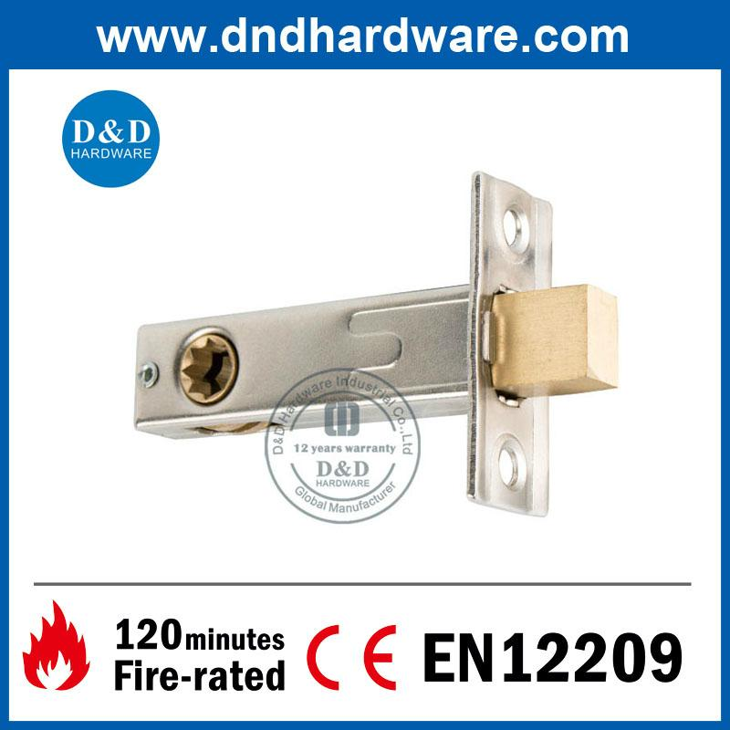 D&D Hardware-Brass WC Deadbolt Lock DDML033