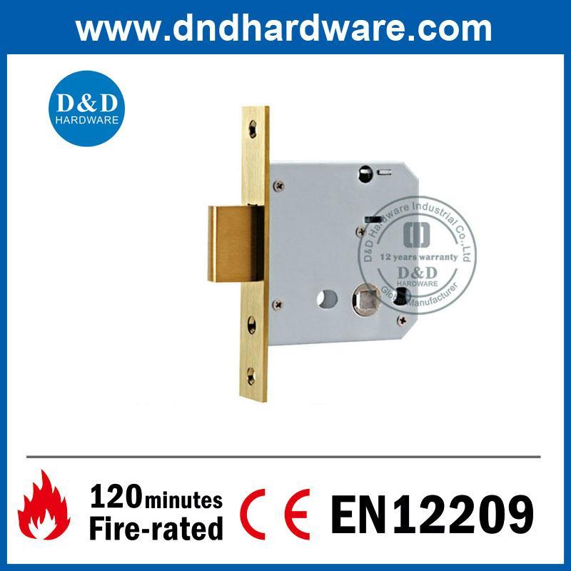 D&D Hardware-SS304 Deadbolt Lock body with CE DDML029-B