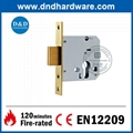 Architectural Hardware Brass WC Deadbolt Lock 3