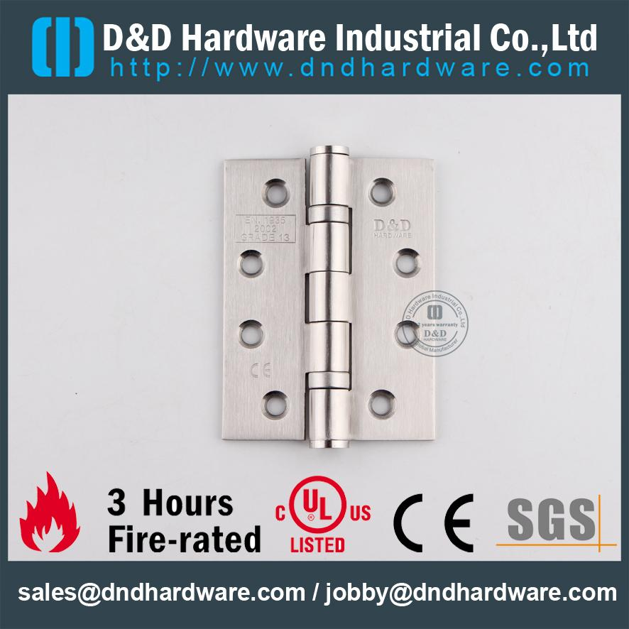 CE marked fire rated hinges 4x3x3.0mm-2BB