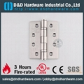 CE marked fire rated hinges