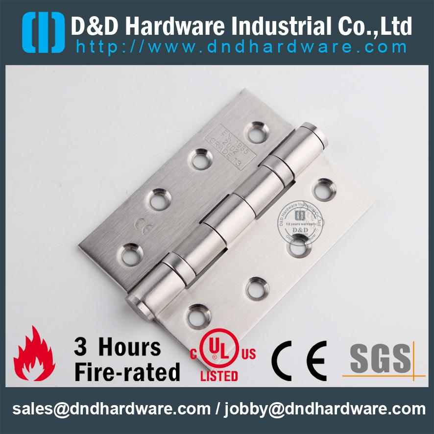 CE marked fire rated hinges D&D Hardware