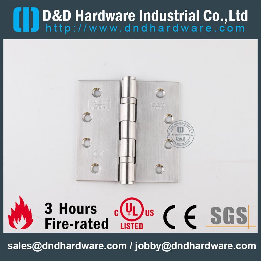 CLASS 13 FIRE CE DOOR HINGES D&D Hardware