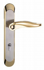 Top quality Zinc alloy handle & Zinc alloy door lock BS EN 1906 Grade3 & 4
