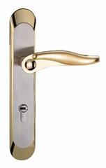 Top quality Zinc alloy handle & Zinc alloy door lock BS EN 1906 Grade3 & 4