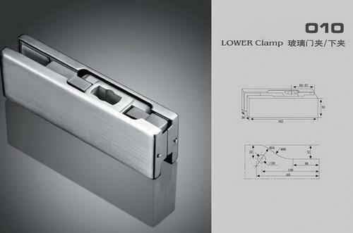 Glass hardware & shower hinge 3