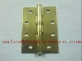 Brass hinge with ball bearing