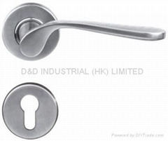 Newest high quality stainless steel door handle BS EN 1906 Grade3 & Grade 4
