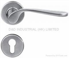 Newest high quality stainless steel door handle BS EN 1906 Grade3 & Grade 4