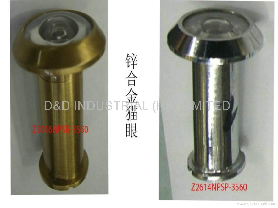 Zinc alloy door viewer