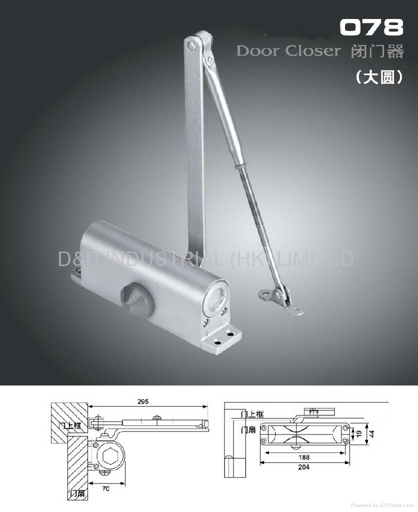 Door closer 1