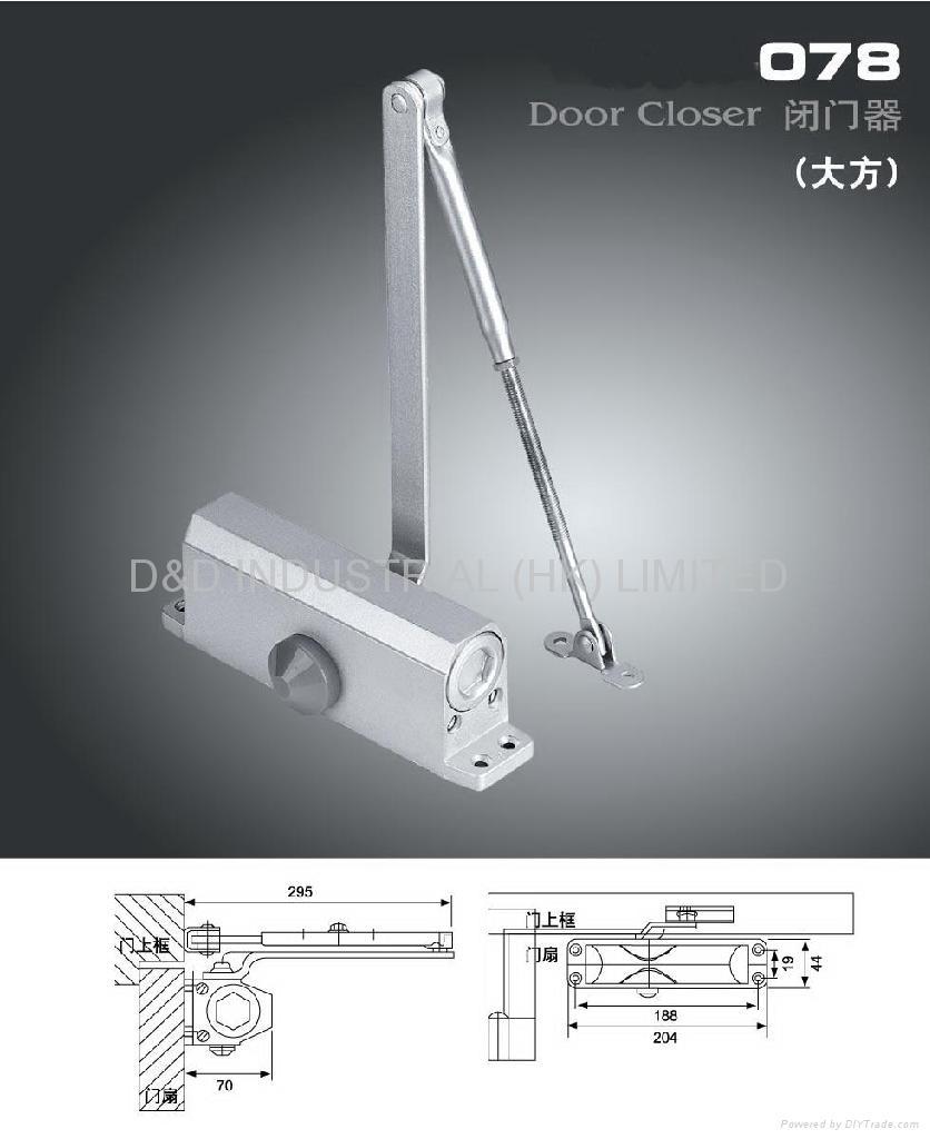 Door closer 2