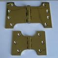 Brass hinge-parliament hinge UL listed