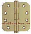 round corner brass plain joint hinge