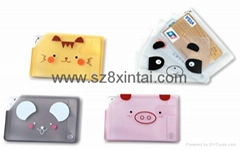 PVC bank card set