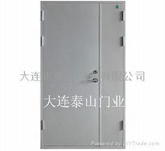 防火門三七子母扇鋼質隔熱防火門FM1221