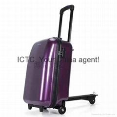 Scooter luggage scooter suitcase trolley case wheeled luggage