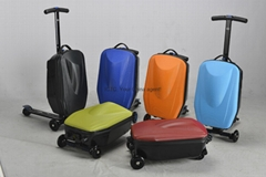 scooter suitcase scooter luggage case