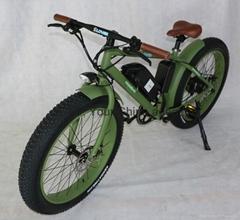 new design electric bike