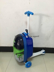 The latest design scooter trolley case