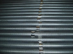 embedded/extruded fin tubes
