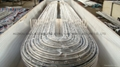 Grade 1.4845 stainless steel boiler tube