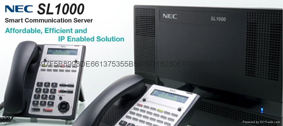 西安NEC 程控电话交换机 1