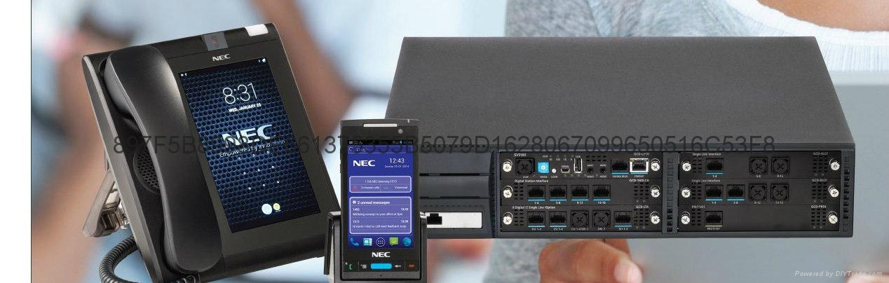 西安NEC 程控电话交换机 2