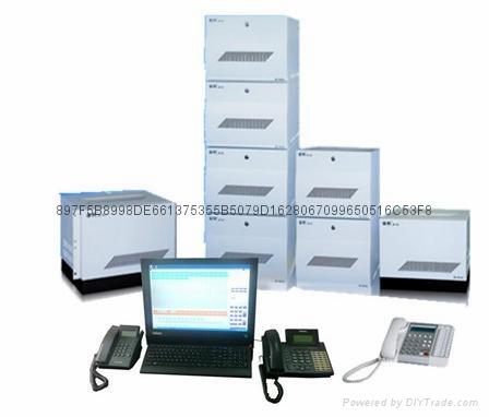 西安通利电话交换机JP-10BTS数字调度系统 1