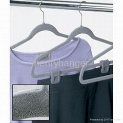 高檔植絨衣架