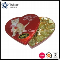 心形礼品包装铁盒
