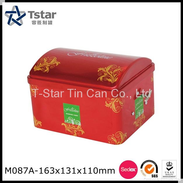Food Grade Metal Tin Box 1