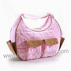 Quilted Fabric Baby Bag with full printing