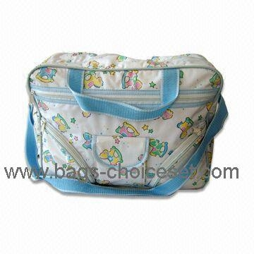 Quilted Fabric Baby Bag with full printing 3